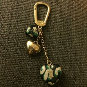 Louis Vuitton charm green&black
